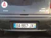 BA-JX : pas de photo